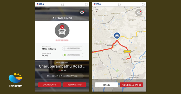 Astra - Integrated School Bus and Student Tracking System